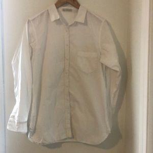HINGE White blouse